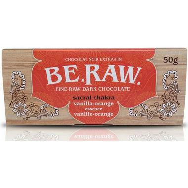 EcoIdeas Be Raw Vanilla Orange Chocolate Bar