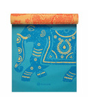 Gaiam Premium Printed Reversible Yoga Mat 5 mm Elephant