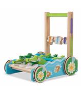 Melissa & Doug Chomp and Clack Alligator Push Toy