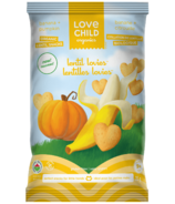 Love Child Organics Lentil Lovies Banana + Pumpkin