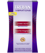Trojan Power Wand Multi-Speed Massager with Deep Vibrations