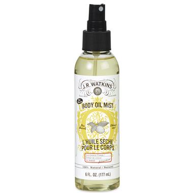J.R. Watkins Lemon Cream Body Oil Mist