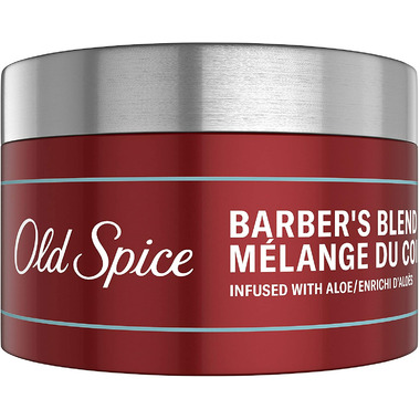 Old Spice Barber\'s Blend Pomade for Men Infused with Aloe