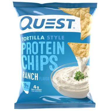 Quest Nutrition Protein Tortilla Chips Ranch