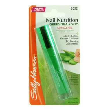Sally Hansen Nail Nutrition Green Tea + Soy Cuticle Oil