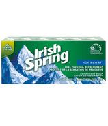 Irish Spring Icy Blast Bar 6 Pack