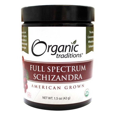 Organic Traditions Full Spectrum Schizandra Extract