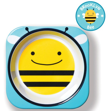 Skip Hop Zoo Tableware Melamine Bowl Bee Design