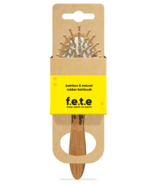 f.e.t.e. Petite brosse ronde en bambou