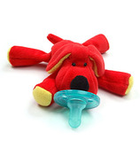 WubbaNub Red Dog Plush Pacifier