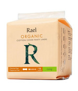 Rael Organic Cotton Cover Panty Liners Long