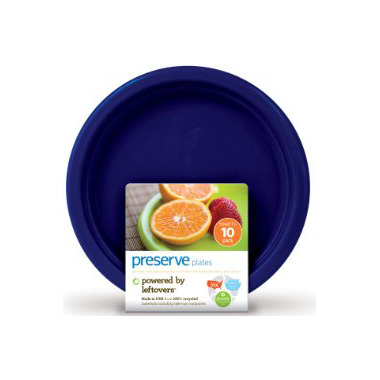 Preserve On The Go Small Plates Midnight Blue