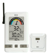 Bios Indoor/Outdoor Wireless Humidex Thermometer