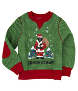 Little Blue House Kids Ugly Christmas Sweater - Santa Claws