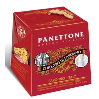Chiostro di Saronno Panettone Classico Cardboard Box