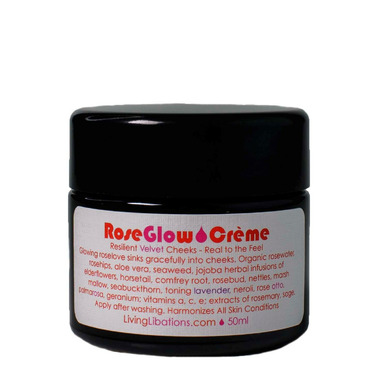 Living Libations Rose Glow Face Creme