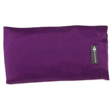 Halfmoon Lavender Silk Eye Pillow Violet Aura