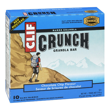 Clif Crunch Chocolate Chip Granola Bars