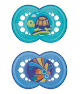 Mam Silicone Crystal Pacifier Blue