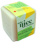 Make Nice Company Solid Dish Soap Unscented