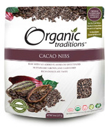 Organic Traditions flocons de cacao