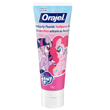 Orajel My Little Pony Anticavity Fluoride Toothpaste