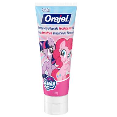 Orajel My Little Pony Anticavity Fluoride Toothpaste