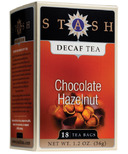 Stash Chocolate Hazelnut Decaf Tea