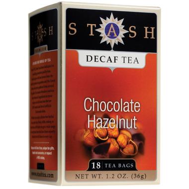 Stash Chocolate Hazelnut Decaf Tea
