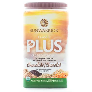 Sun Warrior Classic Plus Protein Chocolate