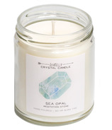 JaxKelly Sea Opal Crystal Candle