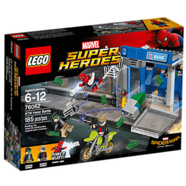 LEGO Super Heros Spider-Man ATM Heist Battle