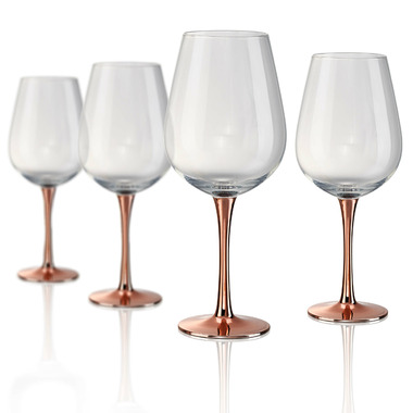 Artland Coppertino Wine Goblets