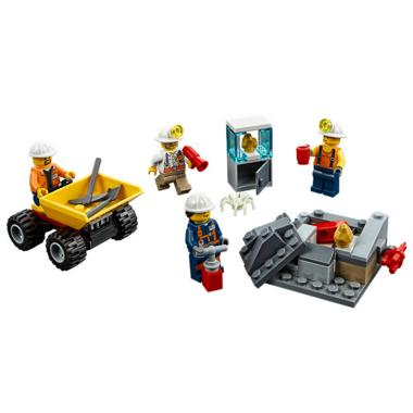 LEGO City Mining Team