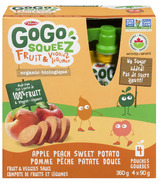 GoGo squeeZ Apple Peach Sweet Potato