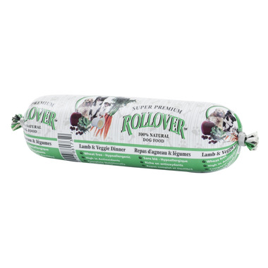 Rollover Semi-Moist Dog Food Roll Lamb & Veggie Dinner
