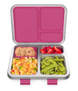 Bentgo Kids Stainless Steel Leak-Resistant Lunch Box Fuchsia