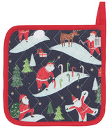 Now Designs Potholder Must Be Santa