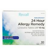 Rexall Non-Drowsy 24 Hour Allergy Remedy (Loratadine 10mg)