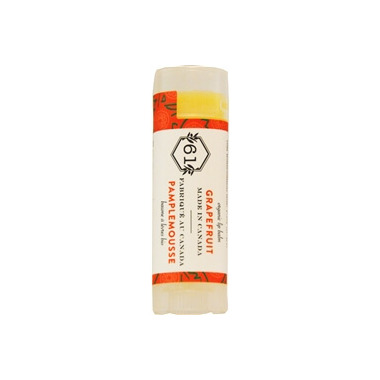 Crate 61 Organics Grapefruit Lip Balm 3 Pack