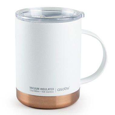 4718e1769f6 Buy Asobu Ultimate Insulated Coffee Mug White from Canada at Well.ca - Free  Shipping