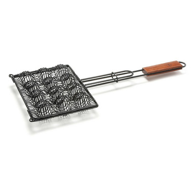 Outset Rosewood Nonstick Meatball Grilling Basket