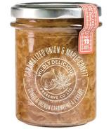 Wildly Delicious Oignon caramélisé et Confit d'érable