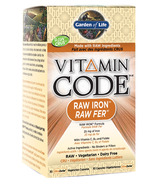 Garden of Life Vitamin Code RAW Iron