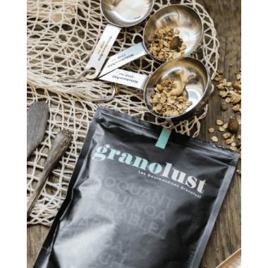 Granolust Maple Quinoa Crunch Granola