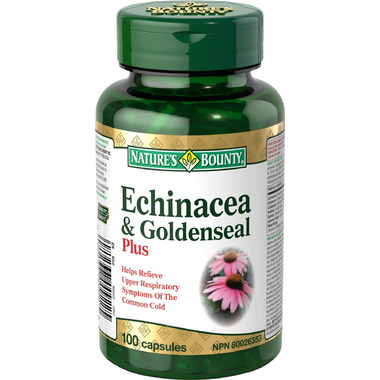 Nature\'s Bounty Echinacea & Goldenseal Plus