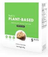 Étui de barre protéinée au beurre d'arachide chocolaté à base de plantes ProtiLife