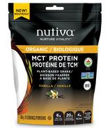 Nutiva Organic MCT Protein Vanilla
