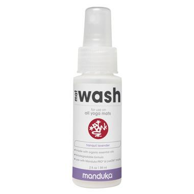 Manduka Mat Wash Spray Travel Size Tranquil Lavender