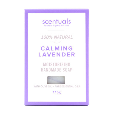 Scentuals 100% Handmade Natural Soap Calming Lavender